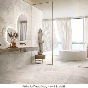 Pedra Raffinato Ivory 48x48 & 24x48