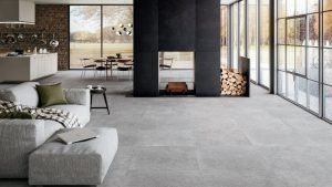 Rocco porcelain panels flooring by ajami surfaces in miami